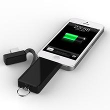 Keyring charger for samartphone Keyring charger for mobile phone cable keyring charger cable usb flash memory