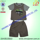 short sleeve summer wholesale children clothes kids clothing sets 2015 new design