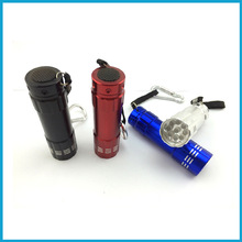 9 LED Aluminum torch