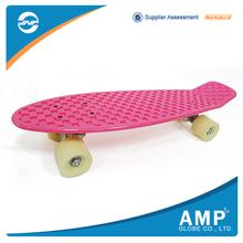 Alibaba Wholesale Custom Made blank plastic cruiser skateboard complete
