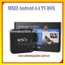 MXIII XBMC Installed +DLNA+ Amlogic S802 Quad Core 2G RAM 8G ROM Google Android Smart TV Box