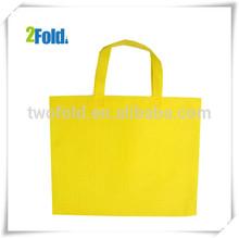 Yellow Non Woven Shopping Bags