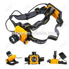 LED headlamp flashlight 300 lumens headlamp led SENHANG SH6653 Q3 headlamp led