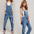 mulheres jeans slim macacao jeans calças sling siameses macacões calças alças