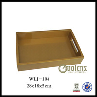 hight gloss rectangle antique wooden serving tray
