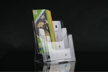 2014 Guangzhou retail hot sales high clear acrylic Literature holder/acrylic display brochure stand/acrylic leaflet holder