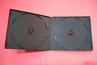 7mm/ 5mm single/double black slim dvd box