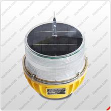 Solar telecom towers Aviation Warning Light/Solar Powered Obstruction Light/LED Solar Aircraft Light manufactuer