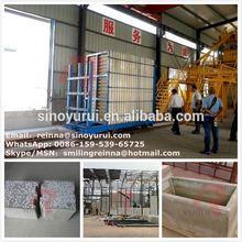 28 years mineral wool & glass wool sandwich panel machine line / vertical mineral wool & glass wool sandwich panel machine line