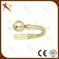 Fancy Gold U shape decorative curtain Tiebacks