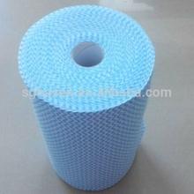 spunlace nonwoven cloth reusable lint free wipe