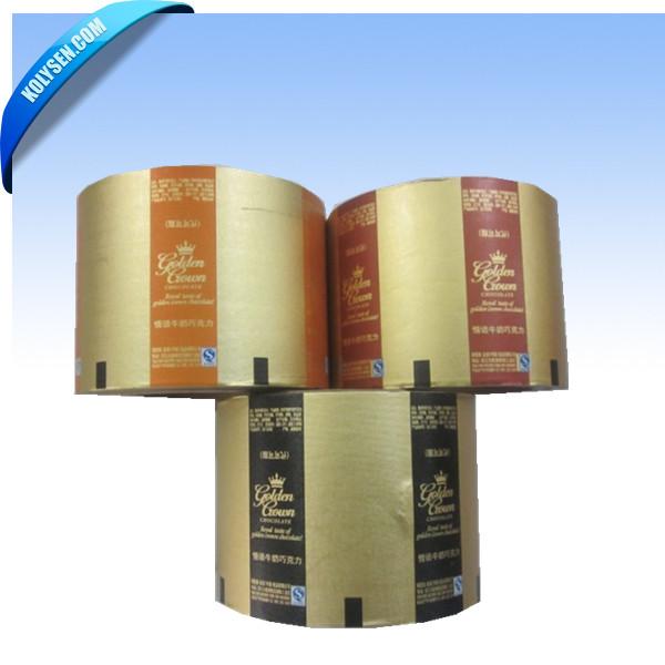 Kolysen feuille d'aluminium papier d'emballage du beurre