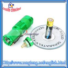 120LM LED White Light Green LED Flashlight For SIPIK Cree XR-E Q5