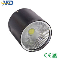 7W COB led downlight 90-260V 3 years warranty Surface Mounted incandescent luminaire