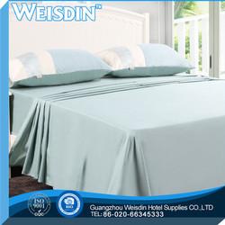 100% bamboo fiber new design bed sheet for the family