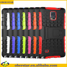 For Samsung Galaxy Note 4 case Armor Heavy duty shock proof stand Defender Reinforced bulder hard case
