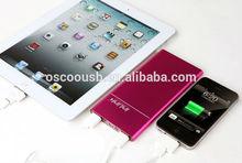 Super slim 10000mah power bank for macbook pro /ipad mini
