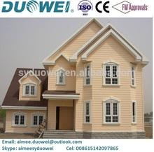 2014-2015 hot sale high anti-earthquake various style light steel prefabracated house