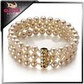 alibaba expresar joyería de moda traje de agua dulce collar de perlas