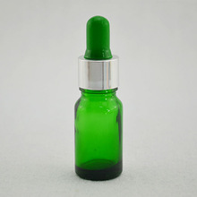 wholesale liquid nicotine 5ml 10ml 15ml 20ml 30ml 50ml 100ml green glass bottle for essential oil