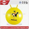 Brinquedos esportivos crianças inflável PVC espaço Hopper Jumping Ball
