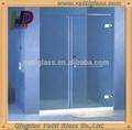 Retangular de vidro temperado frameless porta deslizante do chuveiro& tela de chuveiro