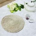 großhandel geflochtenem stroh rattan runden esstisch mat brauch tischsets und untersetzer