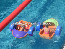 paddler boat for kids, new design amusement water electric bumper boat