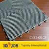Interlocking plastic sport court floor tiles