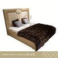 أحدث تصاميم السرير 2011 geniune الجلود غرفة نوم فاخرة مجموعات-- jb17-- 01-- أثاث غرفة نوم المصنوعة في الصين
