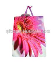 Hot sale cheap custom printed cloth shopping paper bags