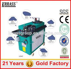 Multifunctional Ventilation edge duct manufacturing machines , flexible duct making machine