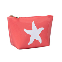2014 Fashionable cosmetic bags with zipper for women