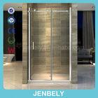 Rectangular Frameless Tempered Glass Sliding Shower Door