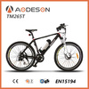 New Style Full Suspension Carbon Electric Mountain Bike TM265T powered by lithium battery and Bafang brushless geared hub motor
