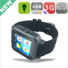 China Android hand watch mobile phone wifi sim slot WCDMA 2100 phone call watch