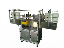 Automatic positioning round glass bottle label and water bottle labeling machine