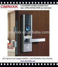 Special design fingerprint RFID card PIN lock hotel password lock D-7030