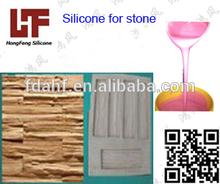 mão líquido de moldes de silicone moldes de pedra
