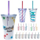 16 oz Double Wall Acrylic Tumbler with Insert