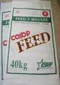 China 100% nuevo material 50k alimentoparaganado bolsas, la alimentación del ganado bag25kg