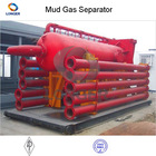 oil drilling machine small mud and gas separator for drilling with API standard