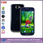 smartphone c20i mtk 6572 dual core cheap big screen android phone 3g android yxtel mobile phone