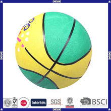 2014 hot selling cheap customized mini rubber basketball