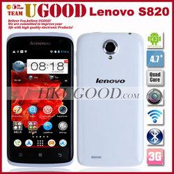 "Original lenovo S820 MTK6589 Quad core Phones 1G RAM 4G ROM Android 4.2 Mobile phone Smartphone 4.7"" IPS HD Screen Russian"
