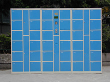 Intelligent Logistic Parcel Delivery Locker, Electronic locker for supermarket