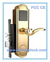 Manager system beautiful design door handle lock mechanical key