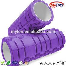 Purple color EVA Foam Roller 45 x 15 Gym Sports Massage Injury Yoga Pain