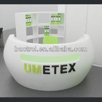 Modern Office beauty Solid surface reception desk