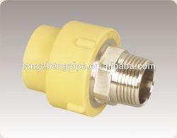 ppr/al/ppr composite pipe male thread union